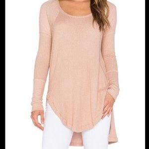 Excellent Condition FREE PEOPLE Thermal Long Slv
